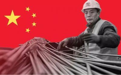การส่งออกเหล็กของจีนในเดือนกรกฎาคม เพิ่มขึ้น 35.8% YoY