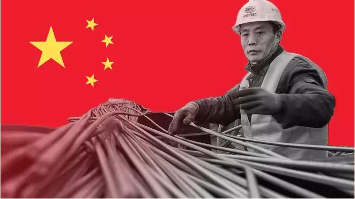 การผลิตเหล็กของจีนชะลอตัวลงอย่างรวดเร็วในปี 2018