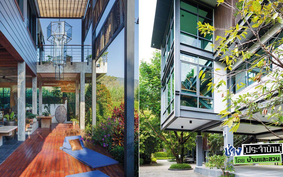 บ้านโครงสร้างเหล็ก VS โครงสร้างคอนกรีต แบบไหนดีกว่ากัน