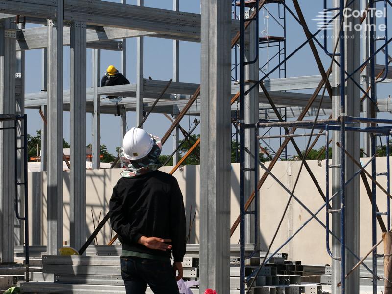 บ้านโครงสร้างเหล็ก ทางเลือกใหม่ของการก่อสร้าง